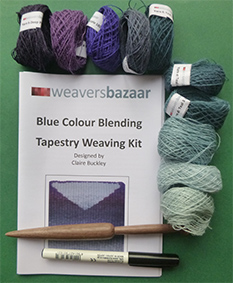 Pack of 5 Blended Tapestry Weaving Kits