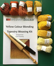 Blending Tapestry Weaving Kit (without frame)