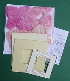 Weave your Own Greeting Card Kit (with yarn)
