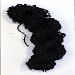 Goat Hair Yarn - Black