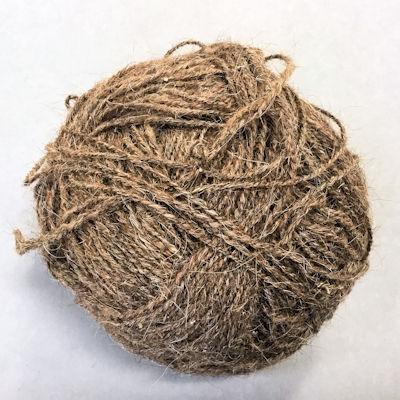 Goat Hair Yarn - Coffee - Thin