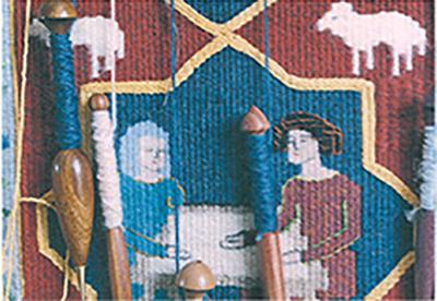 Postcard 13 Thirteenth Century Textiles Jackie Bennett