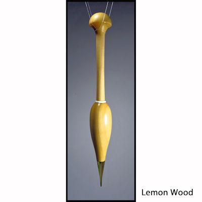 Artisan Bobbin (Metal Tipped) Continental Lemon Wood