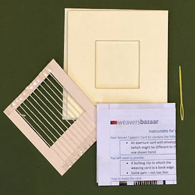 Weave your own Greeting Card Kit