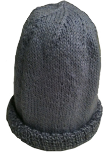 Hand knitted hat